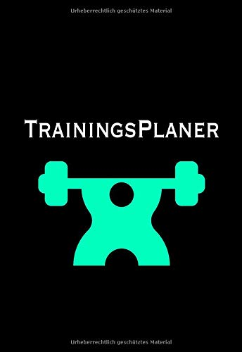 Trainingsplaner: DIN A5 Notizbuch zum Dokumentieren des Trainings - Trainingsdokumentation für Kraftsportler & Bodybuilding por Notizheft Trainingstagebuch