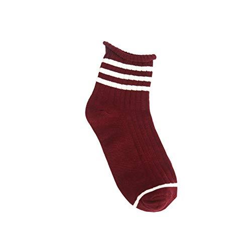 JAZ6 Calze per uomo e donna 3 paia di 6 paia di calzini calzini sportivi alla moda da uomo calzini da skate in cotone calzini da mare