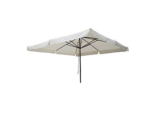 Concept Usine 1493.0 Aragon Parasol Carré Ecru 4 x 4 m