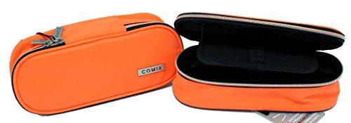 Astuccio ovale arancio fluo reflective special comix