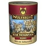 Wolfsblut Blue Mountain | 6 x 395g Hundenassfutter mit Wildfleisch