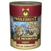 Wolfsblut Blue Mountain | 6 x 395g Hundenassfutter mit - Wolfsblut Nassfutter Junior