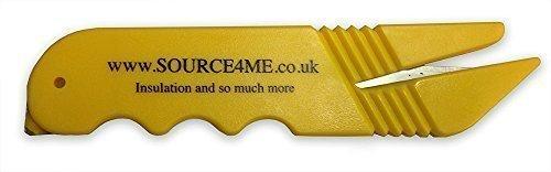 Blademaster Safety cutter for Foil Insulation, tape, box cutter, trimmer, blade Test