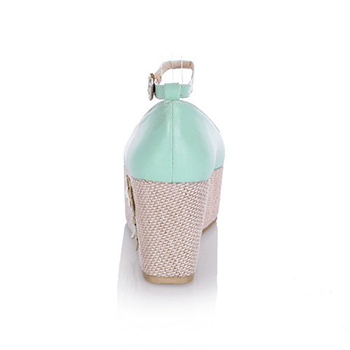 BalaMasaApl10328 - Scarpe con plateau donna Blue