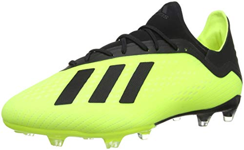 adidas Herren X 18.2 Fg Fußballschuhe, Gelb (Amasol/Negbás/Ftwbla 001), 48 2/3 EU
