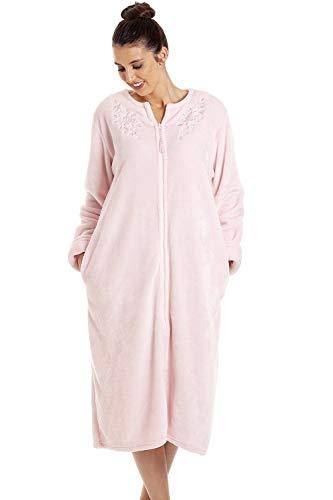 Camille Batas de casa con Cremallera para Mujer 50/52 Pink