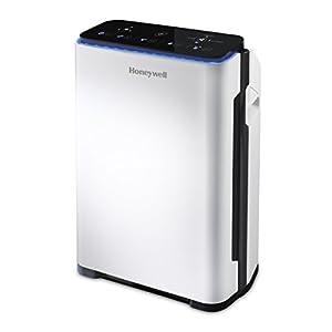 Honeywell HPA710WE4 21m² 33W Negro, Color blanco - Purificador de aire (21 m², 187 m³, 8 h, 1,8 m, 99,97%, Negro, Color blanco)