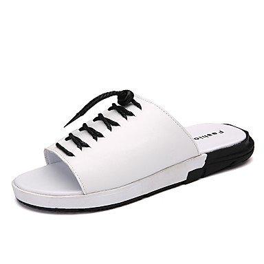 Slippers & amp da uomo;Primavera Estate Autunno Comfort Synthetic Ufficio Outdoor & amp;Career Dress C sandali US10 / EU43 / UK9 / CN44
