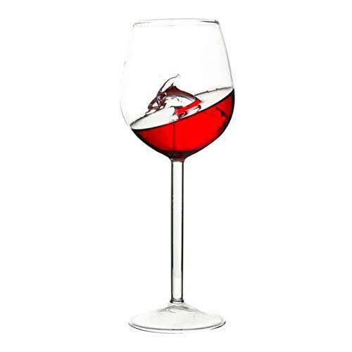 Qianren starfish cavalluccio marino dolphin bicchieri da vino rosso bicchiere da cocktail bicchiere da bere in cristallo trasparente per champagne vino bianco sherry