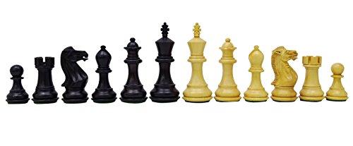 Chessmate Handgearbeiteten Staunton Boxwood 32 Schachfiguren Stücke Schachspiel Königshöhe 83 Mm Geschenk Für Männer