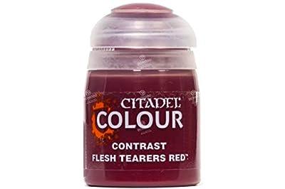 Games Workshop Citadel Pot de Peinture - Contrast Flesh Tearers Red (18ml)