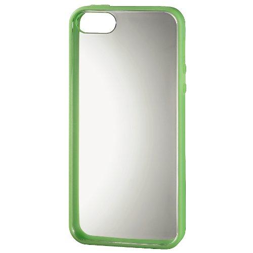 """Hama Handy-Cover """"Frame"""" für Apple iPhone 5/5s, Schwarz Grün"""