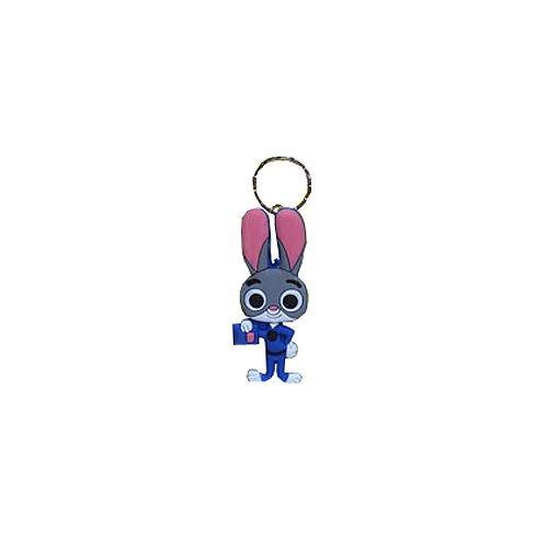 Zootopia Anime Lt. Judy Hopps Key Chain