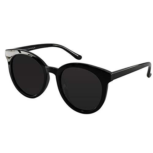 Sxuefang Sonnenbrillen für Dame übergroße Vintage Sonnenbrille leichte Rahmen polarisierte Linse weibliche Brillen