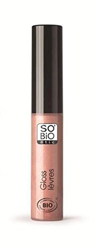 So'Bio Étic Gloss Ultra-Brillante 01 Beige Nude 7 ml Lot de 2