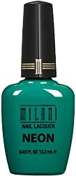 Milani Neon Nail Lacquer - Fresh Teal