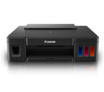 Canon Pixma G1000 Color InkJet Printer (Black) image