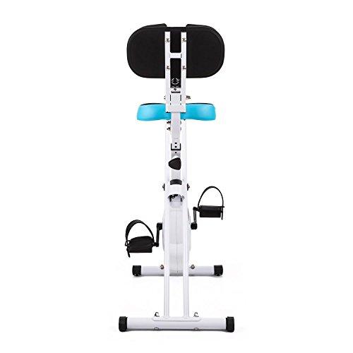 31I8C3uWEGL. SS500  - Klarfit Azura Comfort • Ergometer • Home Trainer • Fitness Bicycle • Cardio Bike • Training Computer • Pulse Meter • 8-step Adjustable Resistance • 3kg Flywheel • Backrest
