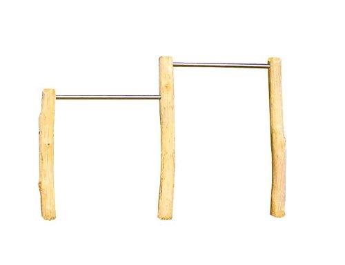 b+t R120150ROB Doppelreck/ Robinie/ H: 120/150cm