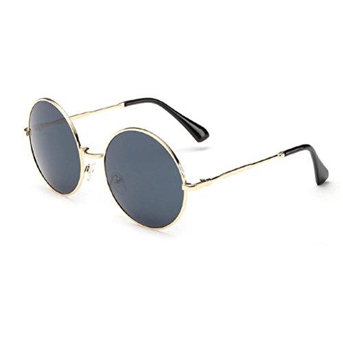 Yizhi Calidad Estable LD-922 Vintage Unisex Round Frame Sunglasses Classic Designer UV400
