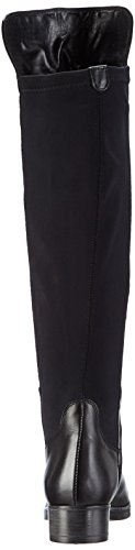 CafèNoir Boots, Stivali Classici Donna Nero (Schwarz (010 NERO))