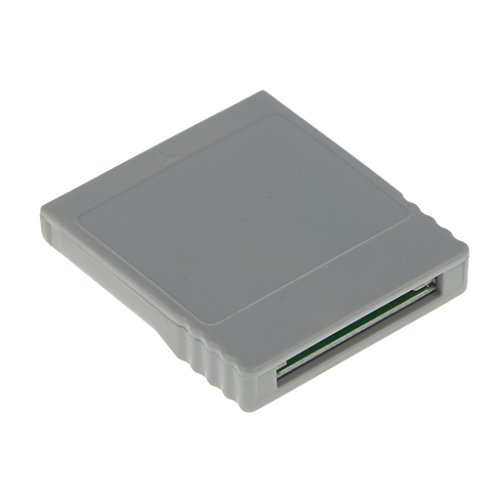 MagiDeal Speicherkarte Steckeradapter Für Nintendo Wii Konsole Videospiel , Grau