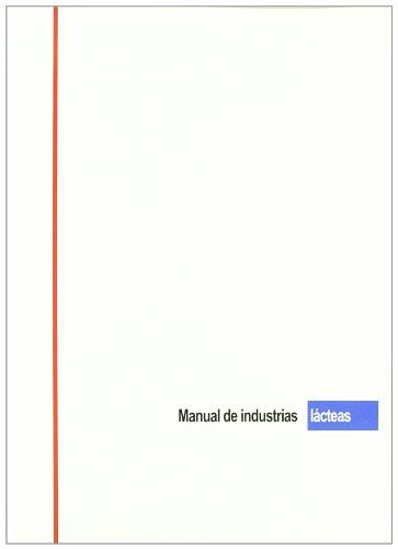 Manual de industrias lácteas