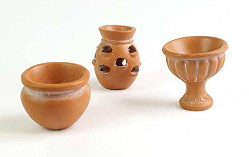 terracotta-pots-3pcs-set-fiddlehead-miniature-fairy-garden-accessory-ornament