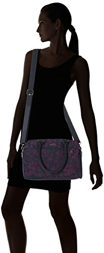 Kipling - Sunbeam, Borsette da polso Donna Multicolore (Orchid Bloom Bl)