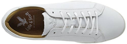 Lnss Findon Leather, Oxfords Homme Blanc (626 White)