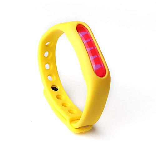 ZJ Anti-Moskito-Kapsel Insektenbekämpfung Mückenschutz-Armband für Kinder (Color : Yellow) -