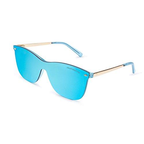 CLANDESTINE Way Blue by HYPE - Gafas de Sol Hombre & Mujer