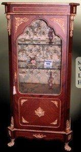 LouisXV Barock Vitrine Rokoko Antik Stil Schrank Louis XV MoVi0220 antik Stil Massivholz....