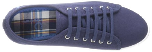 Fred Perry, Sneaker Femme Bleu Carbone