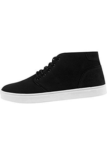 Urban Classics Hibi Mid Shoe Basquettes marron/blanc Noir / Blanc