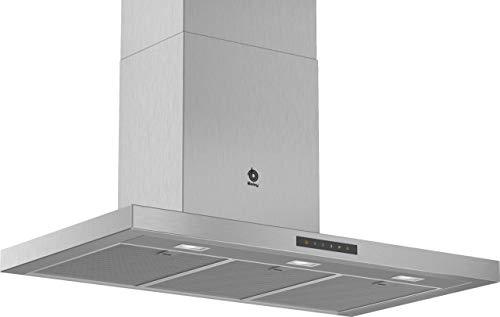 Balay 3BC997GX Campana (Canalizado/Recirculación, A, A, B, 55 dB), Acero Inoxidable, 4...