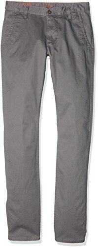 Dockers Herren Hose Bic Alpha Original Skinny-Stretch Twill Grau (Burma Grey 0153)