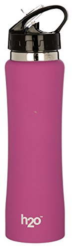 H2O SB 125 Stainless-Steel Water Bottle, 750ml , Pink