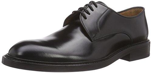 Lottusse L6724 Zapatos de Cordones Brogue, Hombre, Negro (Jocker P. Negro), 42.5 EU (8.5 UK)