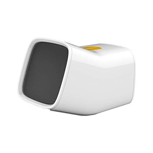 DULPLAY Petit Mute Chauffage Électrique Bureau Portable Chauffage Rapide Radiateur soufflant USB Radiateur personnelle 2 Modes de réglage -Blanc 10x16x12.4cm(4x6x5inch)
