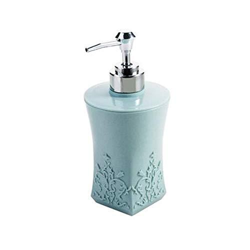 OSAYES Un Distributeur de Savon Liquide Gel Douche WC Pompe shampooing Savon Bouteille 400 ML Contenant Cuisine détergent
