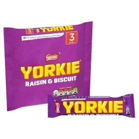 Nestle Yorkie Raisin Et De Biscuit 3 X 44G
