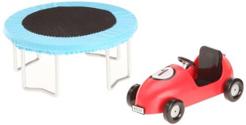 Imagen 4 de Lundby 60.5083.00 - Cama elástica y cochecito Småland para casa de muñecas [importado de Alemania]