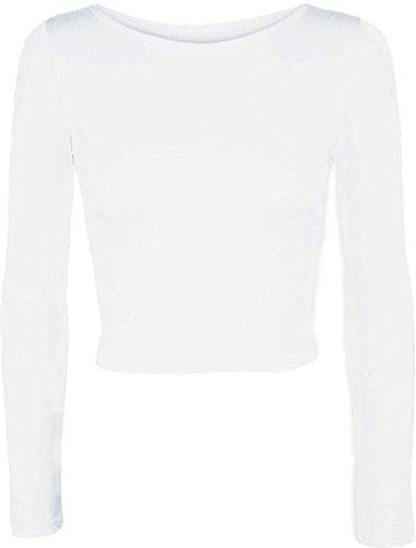 Friendz Trendz -Womens Rara TuTu breve pantalone stretto gonna mini gonna White