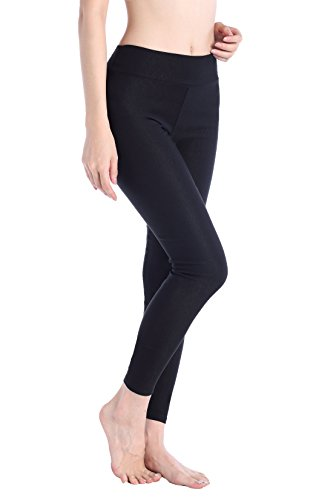 DODOING Damen Sport Yoga Leggings Capri Tight Workout Training Fitness Sportshose (Tights Footless Capri)