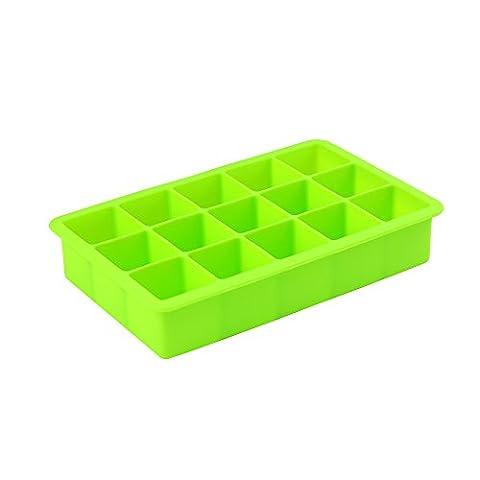 cinlla® Multifunktionale Silikon Ice Cube Tablett Formen Candy Form Kuchen Form Schokolade Form grün