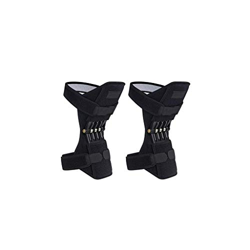 BAMD=NB Joint Support Knee Pads, Knee Patella Strap, Power Lift Spring Force, Tendon Brace Band Pad for Arthritis Tendonitis Gym 1 Pair ... -
