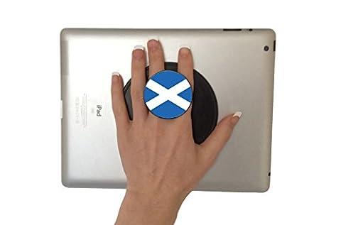 G-Hold® Micro Suction iPad & Tablet Holder, multi award-winning, iPad, Surface, etc (Saltire)