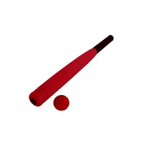 Healifty Kinder Schaum Baseballschläger Spielzeug Kinder im Alter von 3 - 5 Jahren (rot)