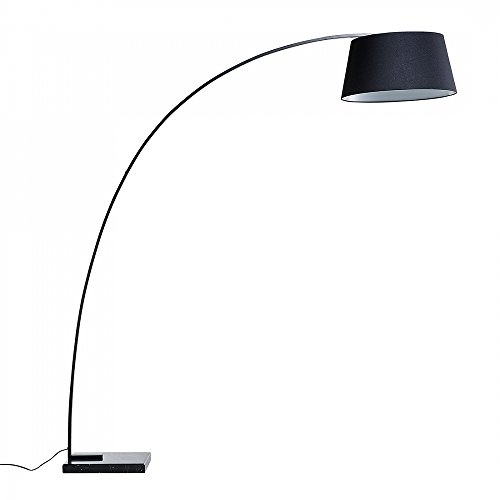 Stehlampe schwarz - Standlampe - Leselampe - Stehleuchte - Standleuchte - Beleucht...